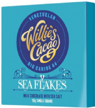 Willie's Cacao Sea Salt Milk Chocolate 50g